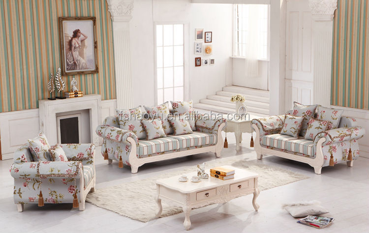 Fancy Turkish Fabric Living Room Sofa Turkish Sofa