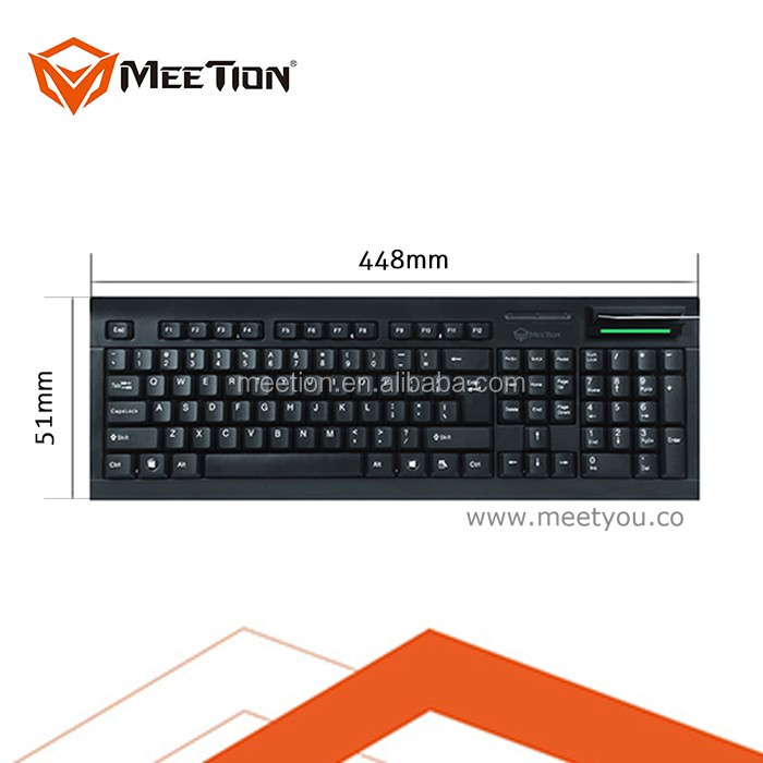 Wholesale Usb keyboard with Smart Card Reader \ IC card reader ...