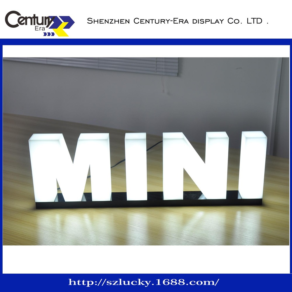 led light box logo sign LED 3D channel sign whole lighting  sc 1 st  Alibaba : light in the box coltd - Aboutintivar.Com