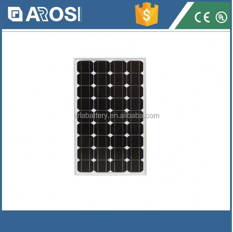 New 130w solar panel totalizing panel for generators