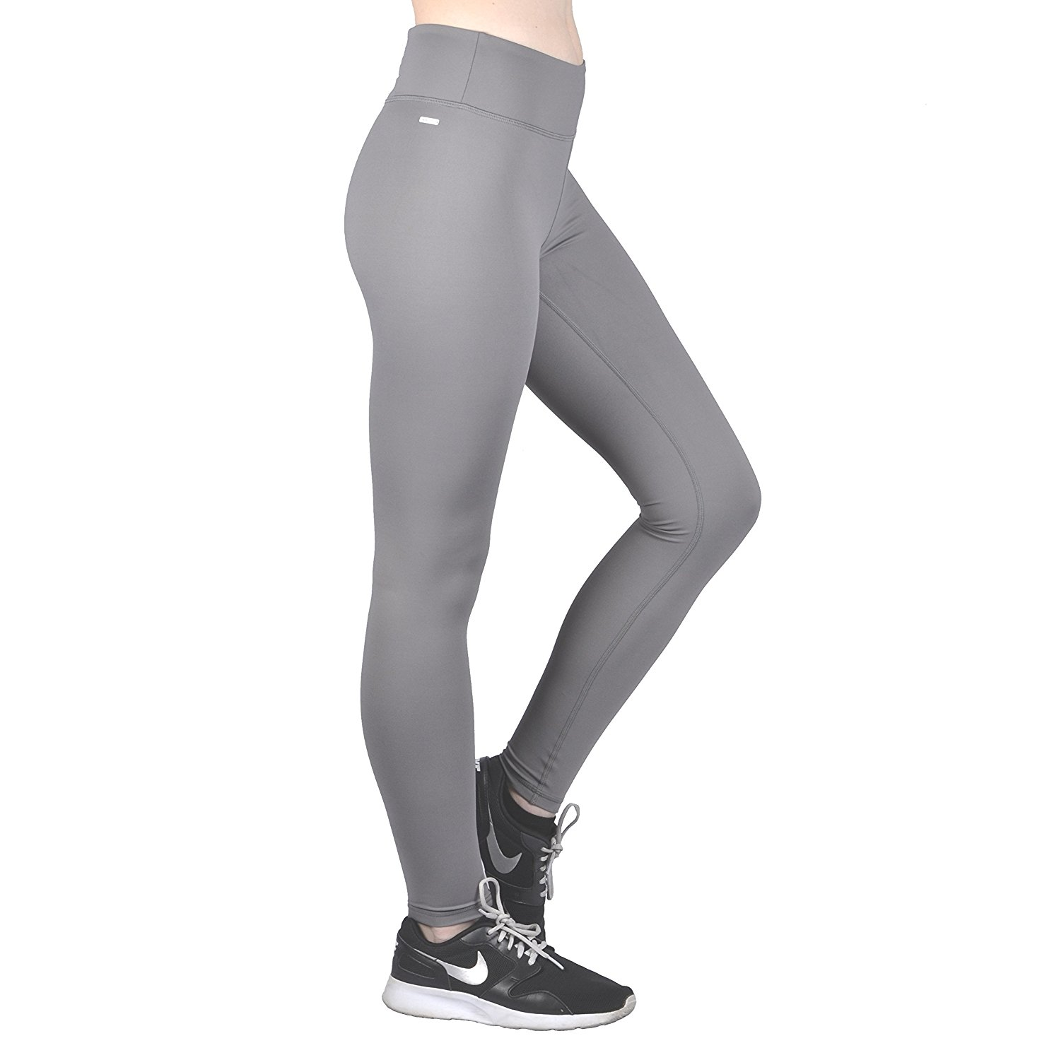 aef005cefc Get Quotations · Dynamic Athletica Compression Workout Leggings - Workout  Clothes and Yoga Pants
