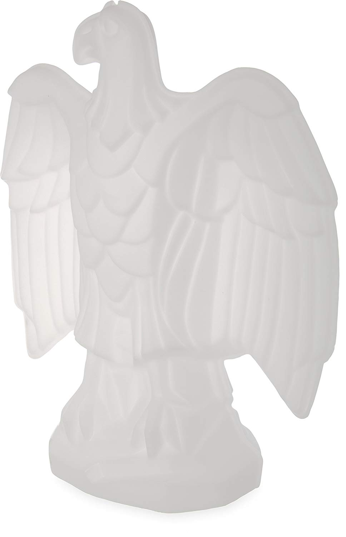 "Carlisle SEA102 Eagle Shaped Ice Sculpture Mold, Single Use, 15.5"" Length x 24"" Width x 29"" Height"