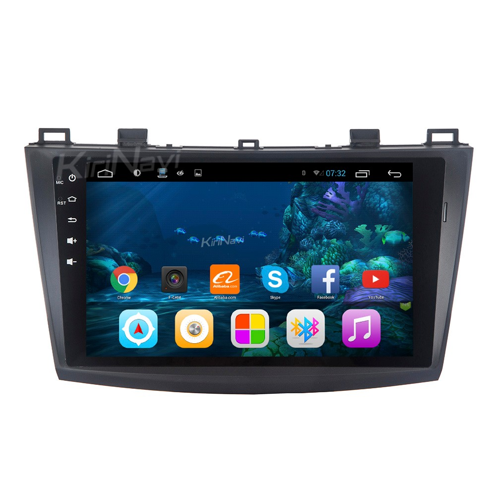 "Kirinavi alta qualità WC-MZ9005 9 ""andriod 6.0 lettore dvd dell'automobile per mazda 3 android 2010-2012 BT gps"