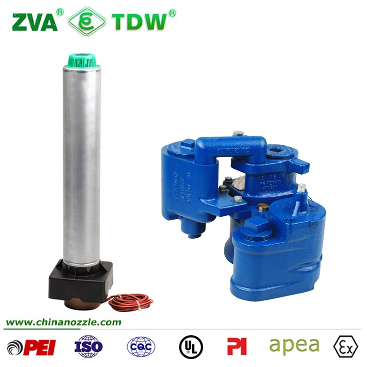 High Performance Electric Fuel Transfer Submersible Pump With Blue Jacket