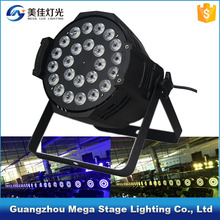 Guangzhou mini led par64 light 24x10w led rgb dmx cob led par stage light par can
