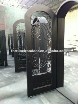 Wrought Iron Door Designs Window Decor Made In China Factory Decorative Film Decoration