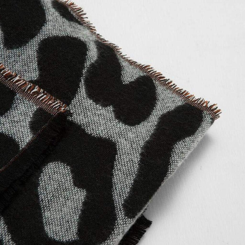 Get Quotations · Autumn and winter stripe Jacquard Women scarf Keep warm  shawl Dual use c03e728ea742