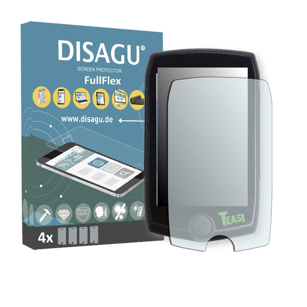 4 x Disagu FullFlex screen protector for Teasi Pro foil screen protector