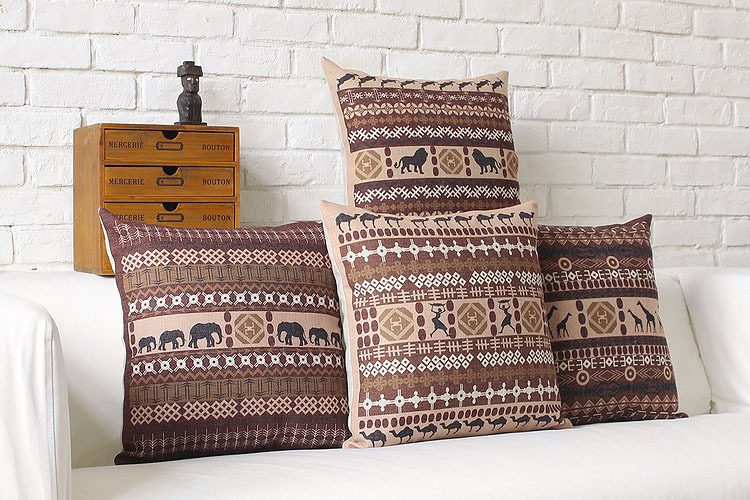 Wholesale African Style Cushions Home Decor Creative Decorative Pillows Modern   Minimalist Pillow Cushions Free Shipping