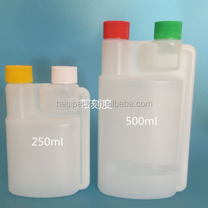 Cheapest 250ml Fuel Additives Two Compartment Bottle for sale