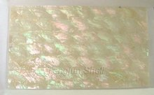 PAP601 Abalone shell paper irridescent color no resin on surface