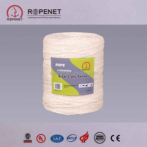 1---5mm best sisal/pp rope manufacture