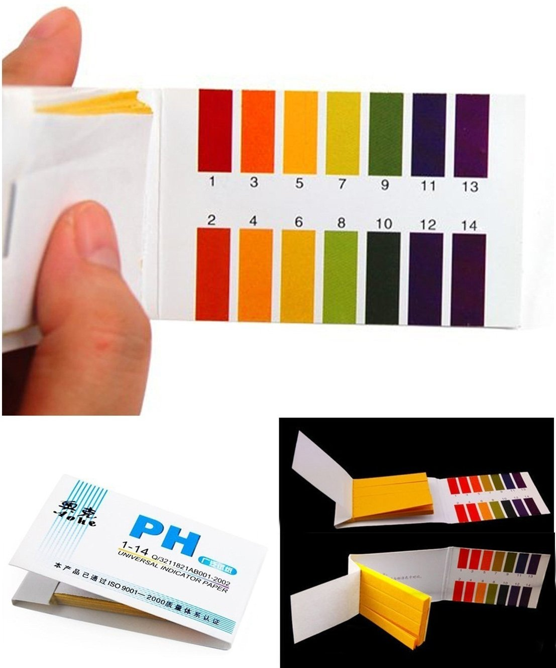 Cheap ph paper color chart find ph paper color chart deals on get quotations 160x test defectless popular ph tester strips urine and saliva 1 14 paper range laboratory nvjuhfo Choice Image
