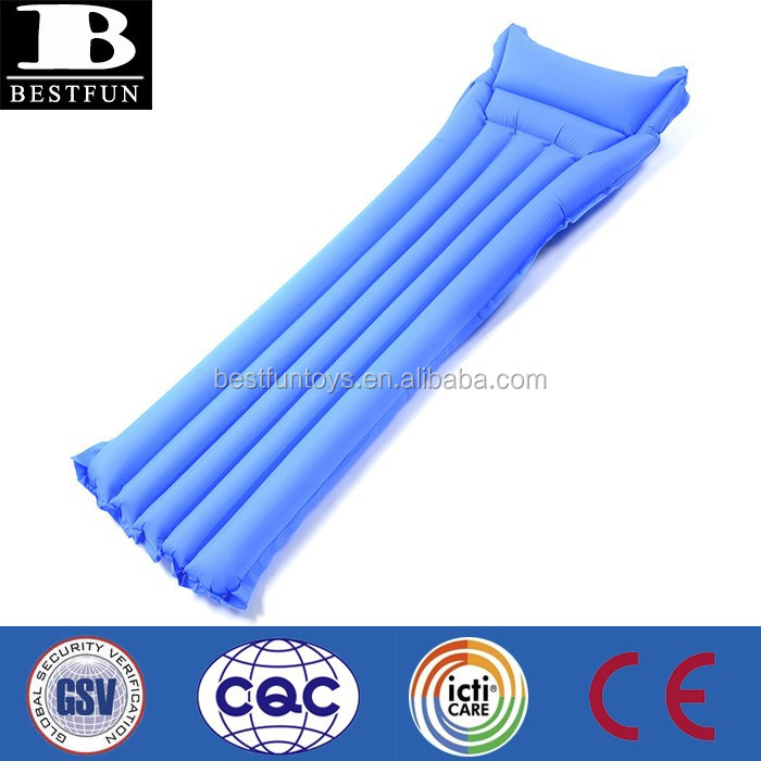 Custom Made Promotional Inflatable Water Floating Bed Swimming Bed ...