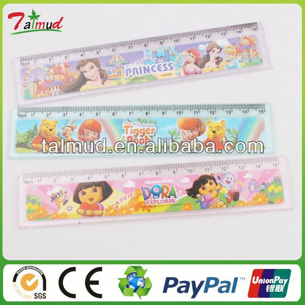 Customized 3d plastic height chart