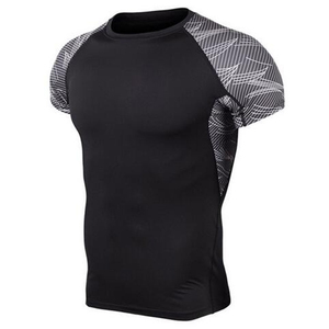 Sportswear shirt sublimation men running fitness sleeve OEM bangladesh clothing raglan t shirt