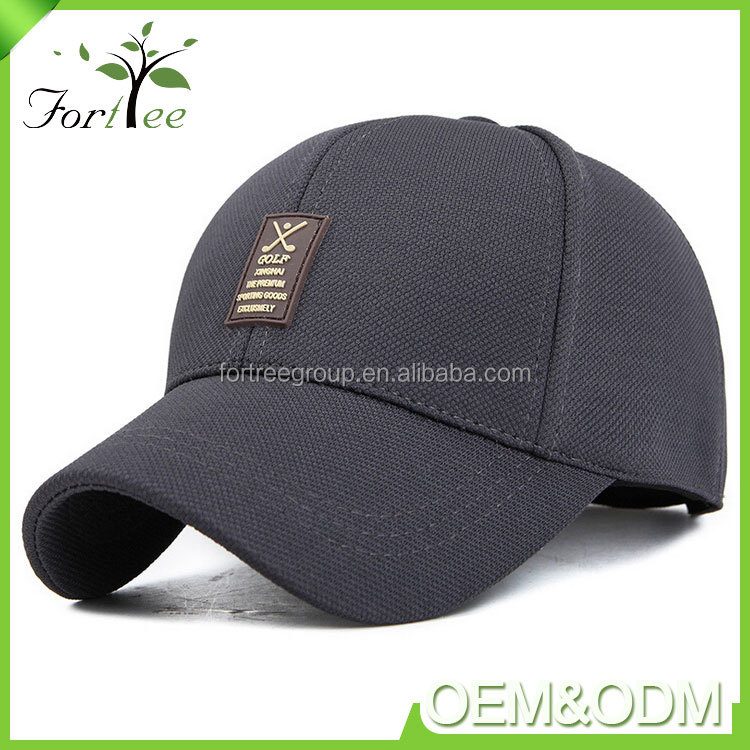 Popular new fashion styles custom boys girls golf sport cap flexfit caps hats men
