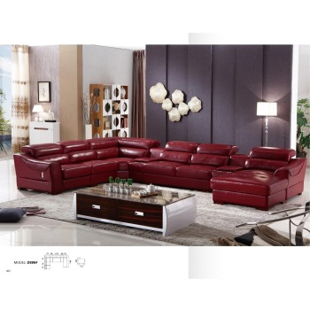 Astonishing Dz896 Large U Shape Italian Luxury Modern Red Cow Leather Living Room Sectional Corner Sofa With Recliner Storage Arm Function Buy Large U Shape Lamtechconsult Wood Chair Design Ideas Lamtechconsultcom