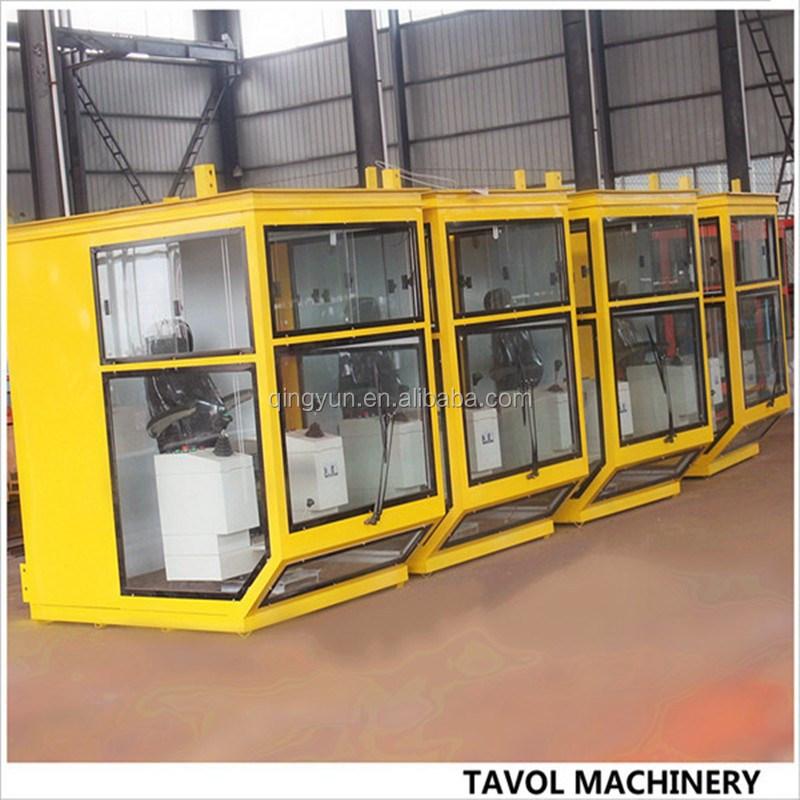 Tavol Brand China Tower Crane Operator Cabin