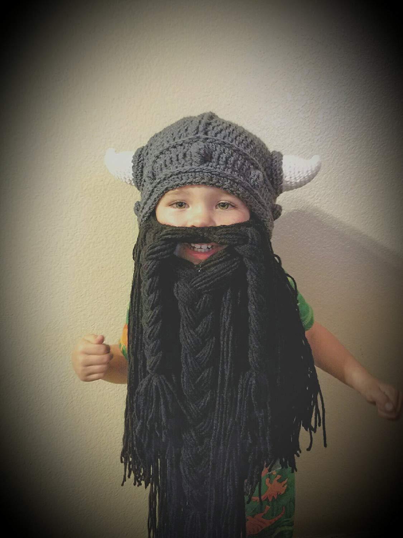 Get Quotations · Viking Beard Hat Set 6d7f1d15d8c