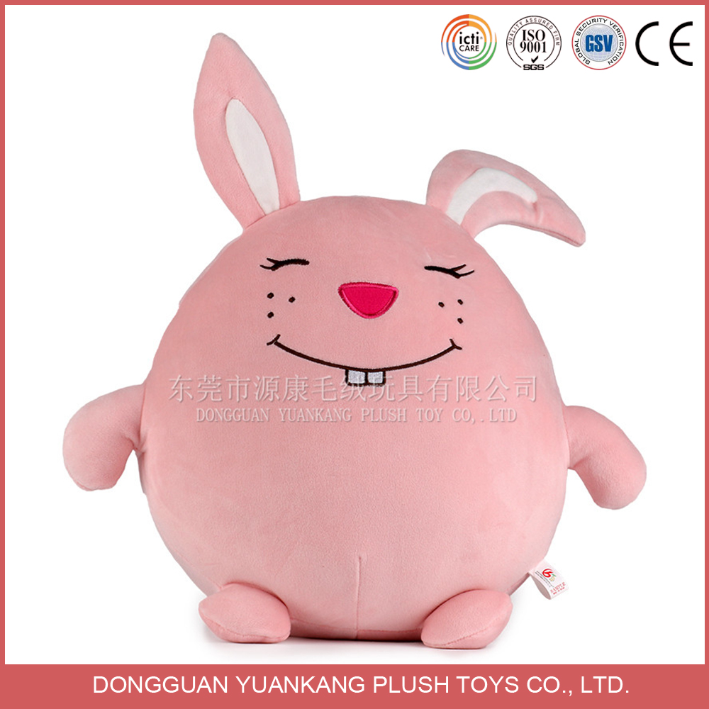 Ailbaba wholesale all kinds of pink rabbit stuffed toy