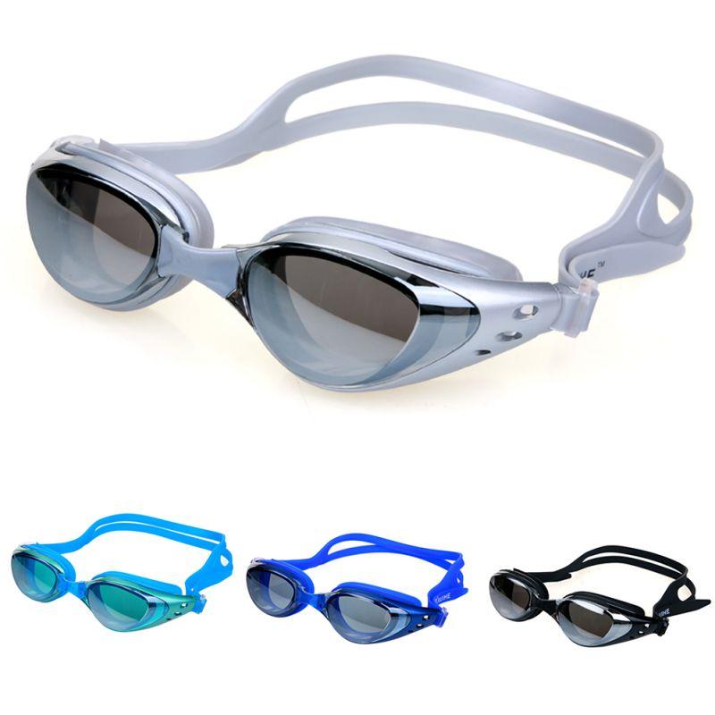 595c4ec4d الذكور الإناث الكهربائي نظارات السباحة نظارات الرياضة قابل للتعديل الكبار  السباحة بركة الإطار النظارات نظارات للماء