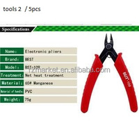 RZM BEST 109 Professional Electrical Wire Cable Cutters Cutting Stripper Diagonal Pliers Electronic Plier