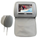 "Hot selling 7"" Car Seat Headrest Display Monitor DVD Player With IR Headphope"