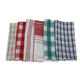 Wholesale europe german 100% cotton soft kitchen towels wash dish cleaning cloth (12 pack)