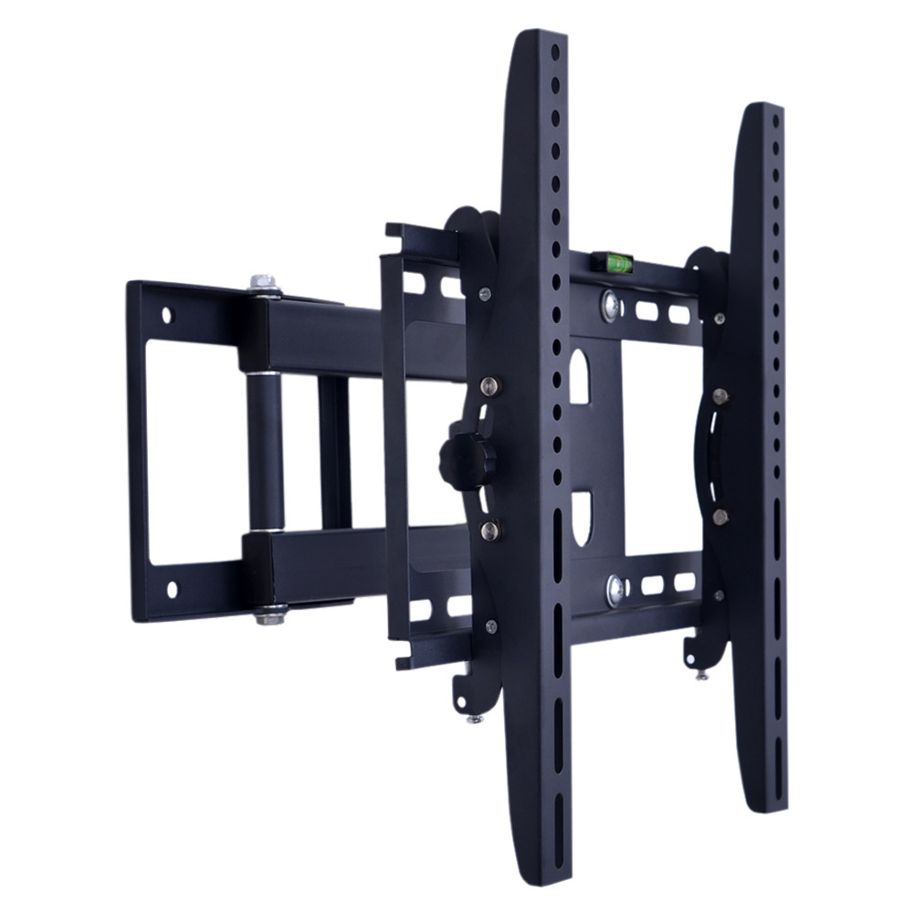 Economical extend arm adjustable swivel tv stand swing full motion folding LCD LED TV bracket wall mount