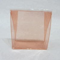 Plastic PVC Vinyl Clear Zipper Cosmetic Bag Carrying Tote Travel Case