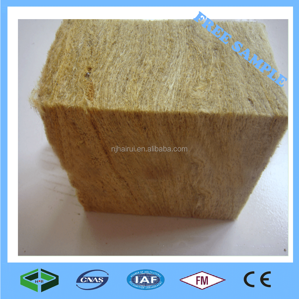 150mm Fireproof Heat Insulation Rockwool Acoustic Wall Panels Price