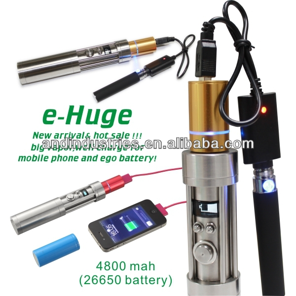 e-Huge Vamo V6 SS Mod VV/VW 26650 eGo/510. Free Extension Tube. For Limited Time. Stainless Steel. Body SS/5 Amp Switch.