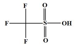 1493-13-6/Trifluoromethanesulfonic acid/Trifluoromethanesulphonic acid/Triflic acid