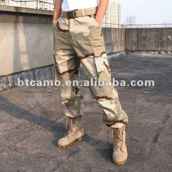 Pantaloni Cotone 100 Buy Colore Uniforme Mimetico Deserto 3 YZZwp