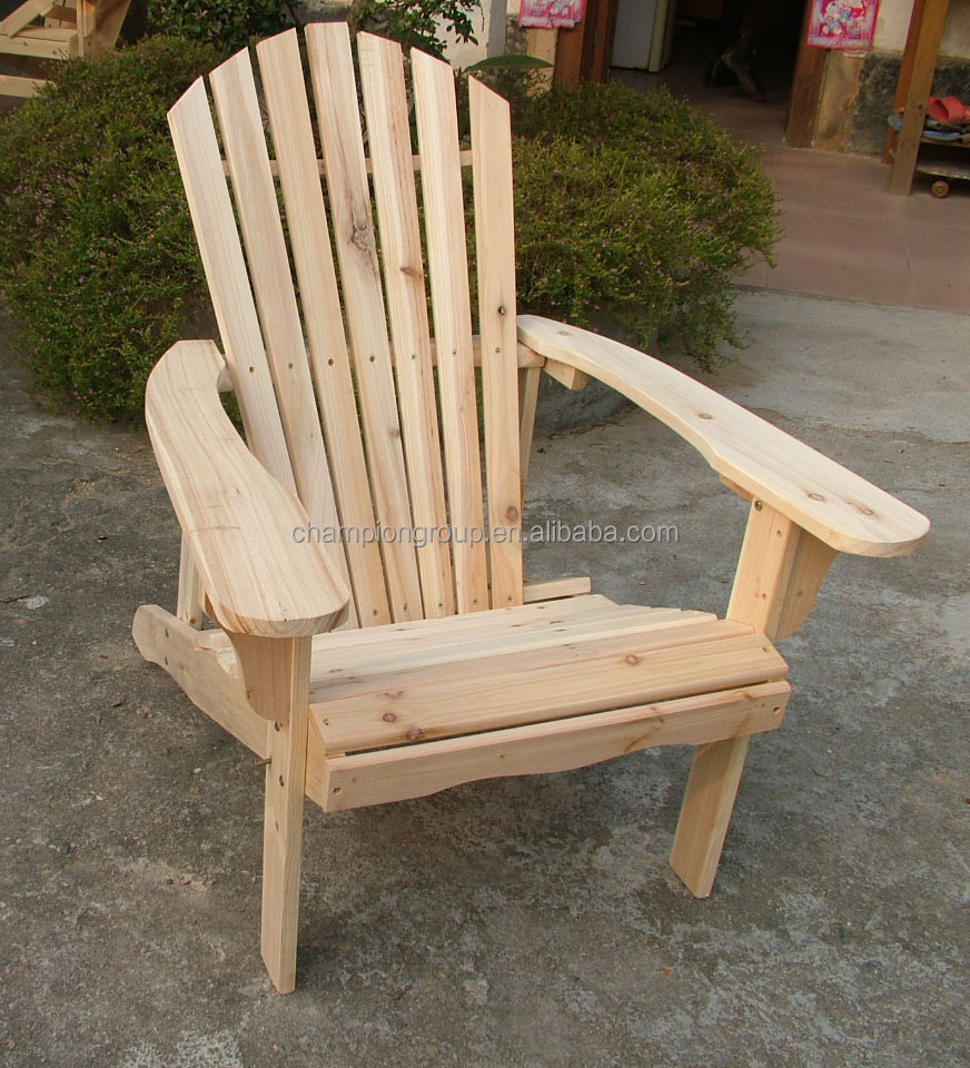 folding adirondack chair with stain color