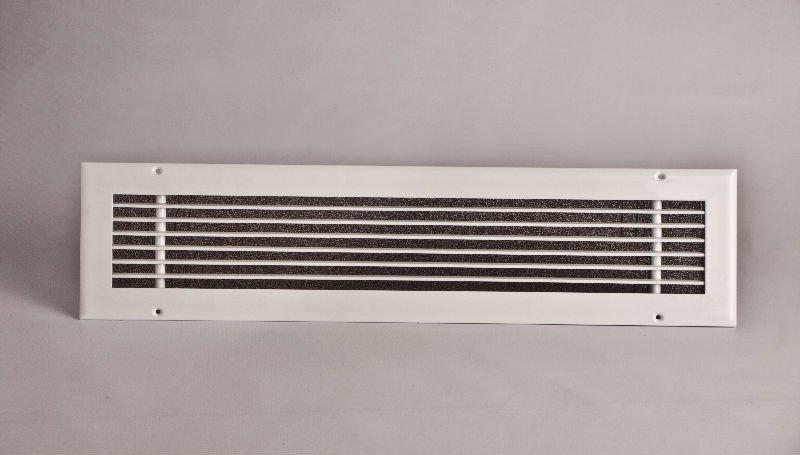 Rejilla lineal calor ventilaci n aire acondicionado for Rejillas aire acondicionado regulables