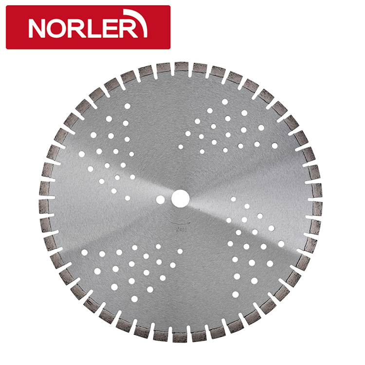 "Laser Welded 16"" Diamond Blade for Concrete"