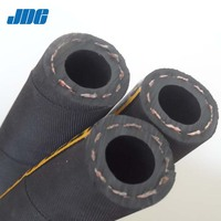 High pressure water hose JDE 1 inch rubber water hose pipe best quality braided water hose