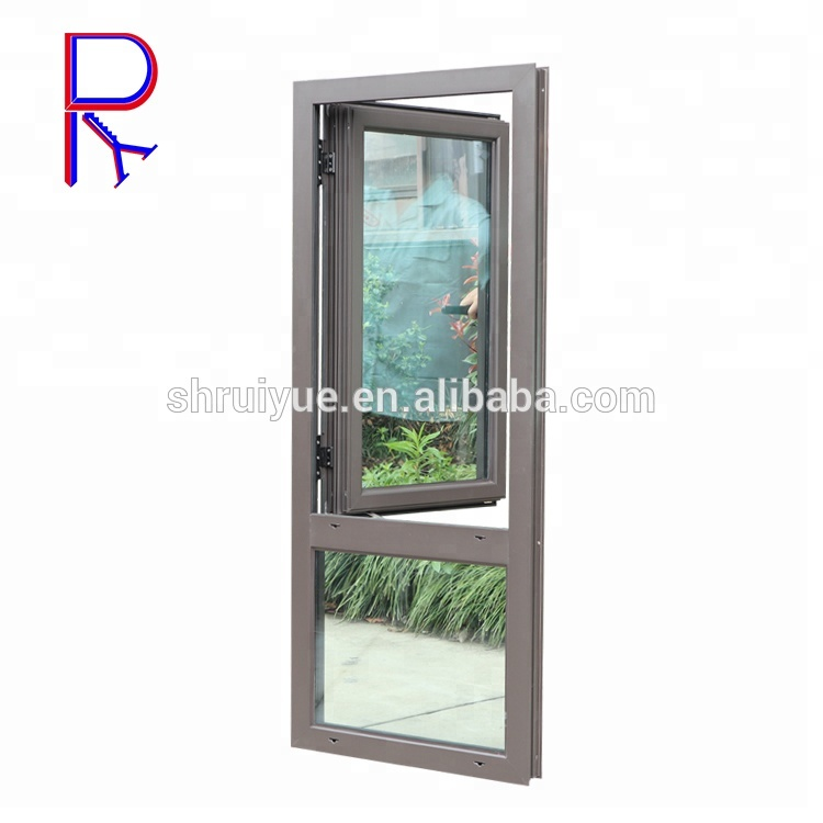 Aluminum Frosted Glass Awning Windows Standard Bathroom ...