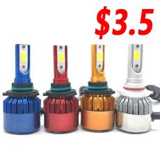 Music Control Colorful RGB LED Headlight H7 H11 H4 High Quality Car LED Bulb