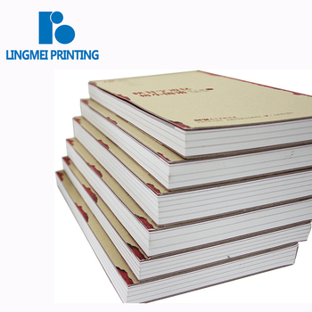Custom softcover full color die-cut finish cover Chinese culture book with perfect binding