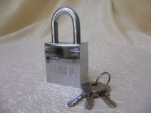 40mm/50mm Waterproof solid stainless steel square padlock to use steel door with multiple functions