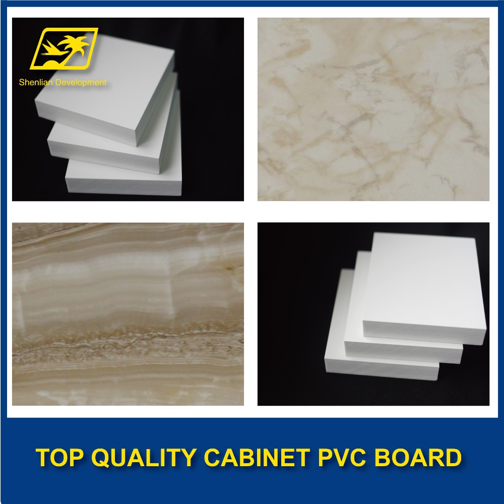 lamination china hard marble PVC foam board