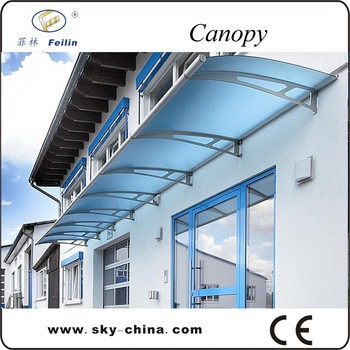 New Material Transparent Plastic Door Canopy Awning Brackets