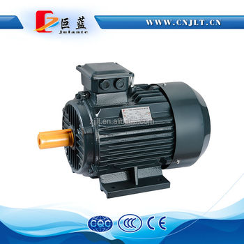 Electric Motor With Lead Wire And Terminal Box Connection Is ...