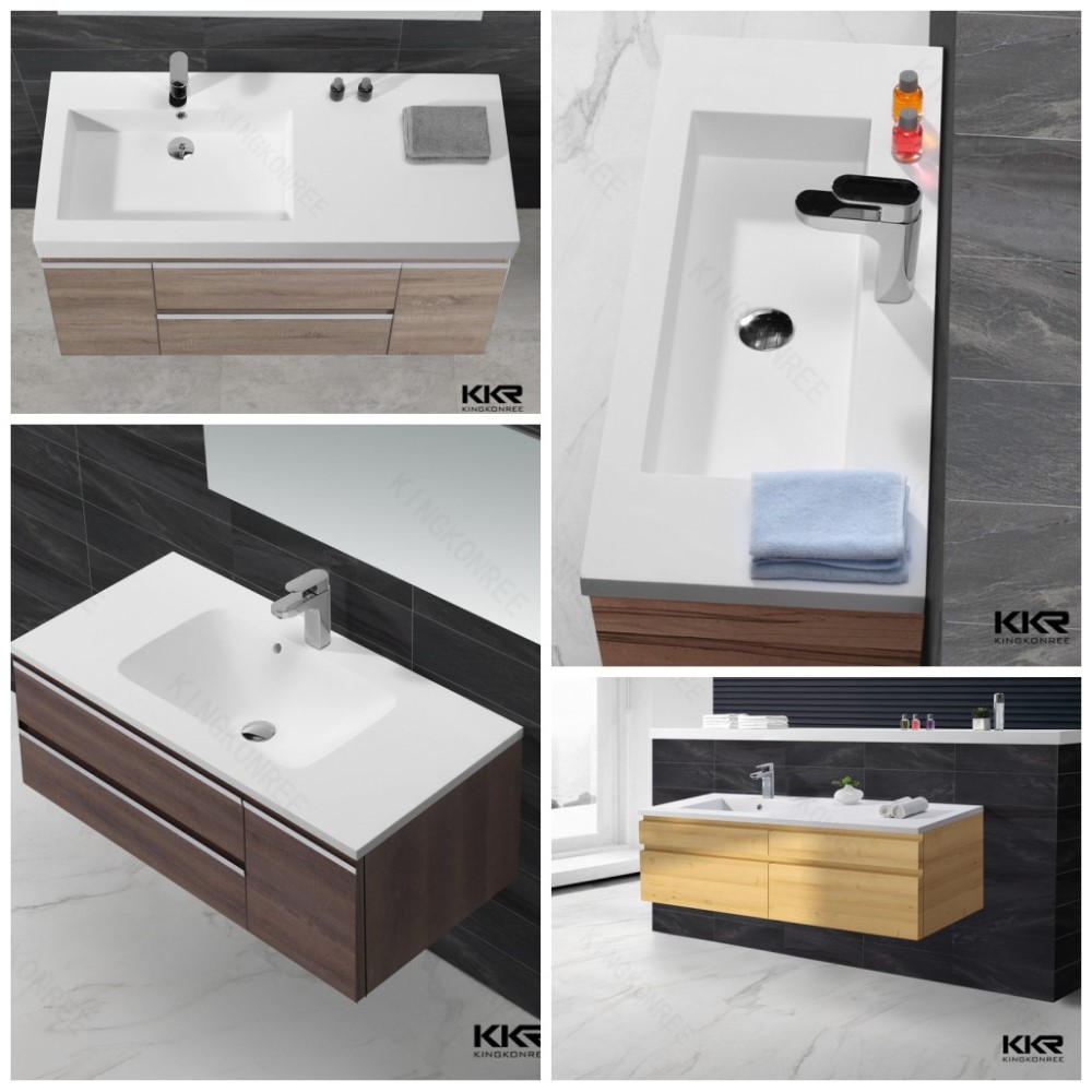 bathroom sinks with two faucets / fancy bathroom sinks