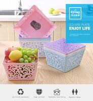 high quality folding PP plastic storage box