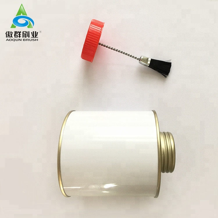 Quality guaranteed factory price cap pp dauber brush for tin cans