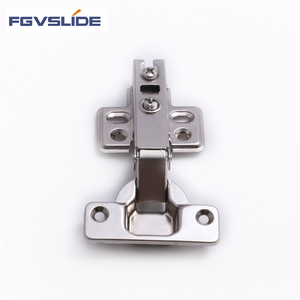 Furniture hardware screw on cabinet door hinge
